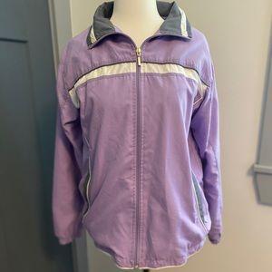 Vintage Wilson Women's spring jacket purple small